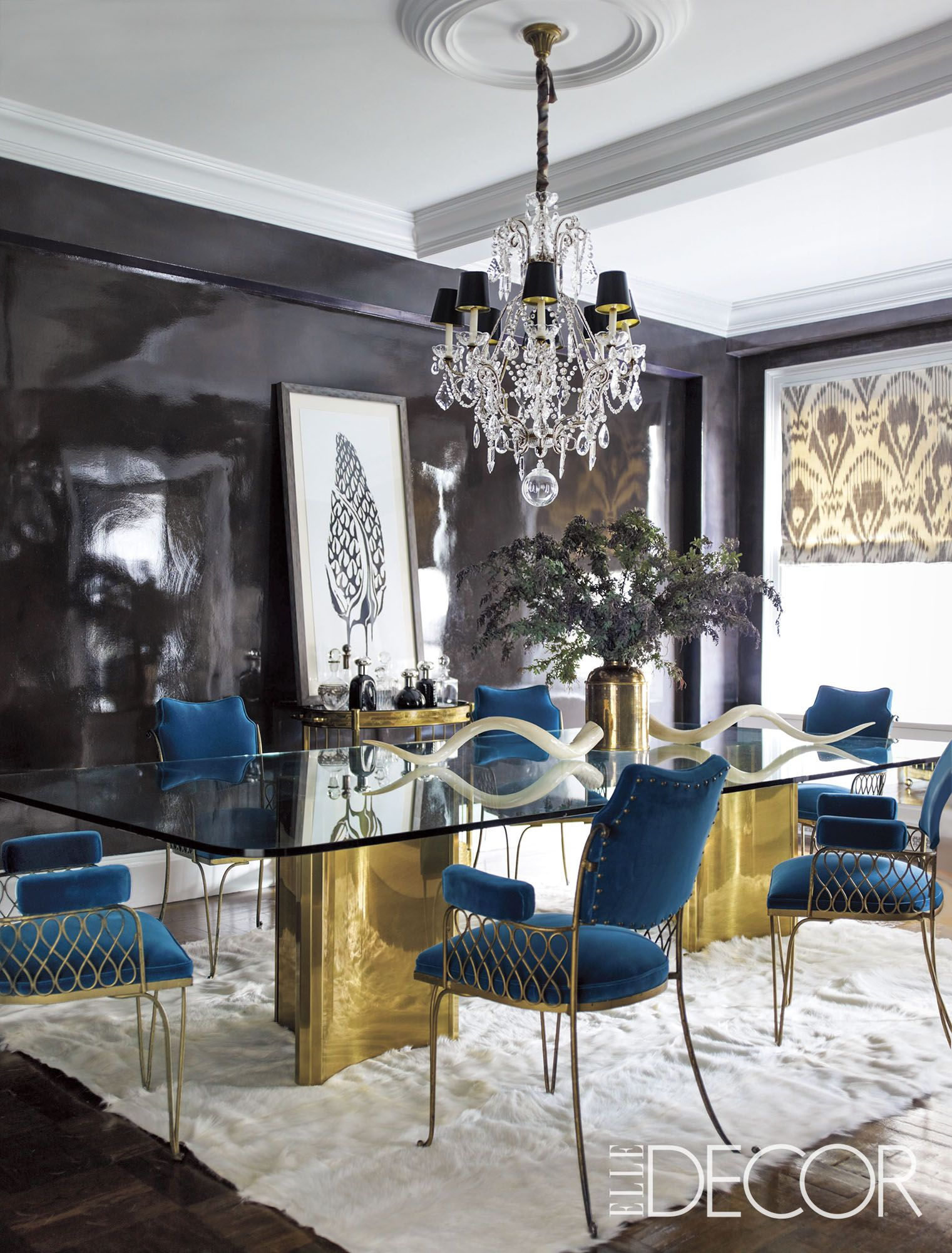 Image Lighting Ideas Dining Room Elle Decor