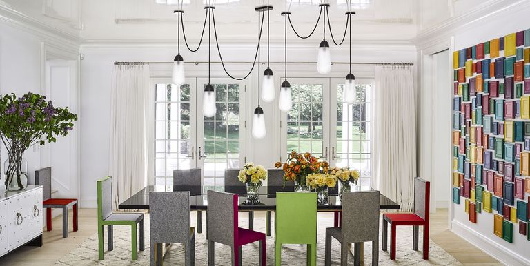 20 Dining Rooms With Bold Beautiful Light Fixtures Western Living