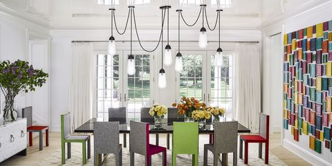 26 Best Dining Room Light Fixtures - Chandelier & Pendant Lighting ...