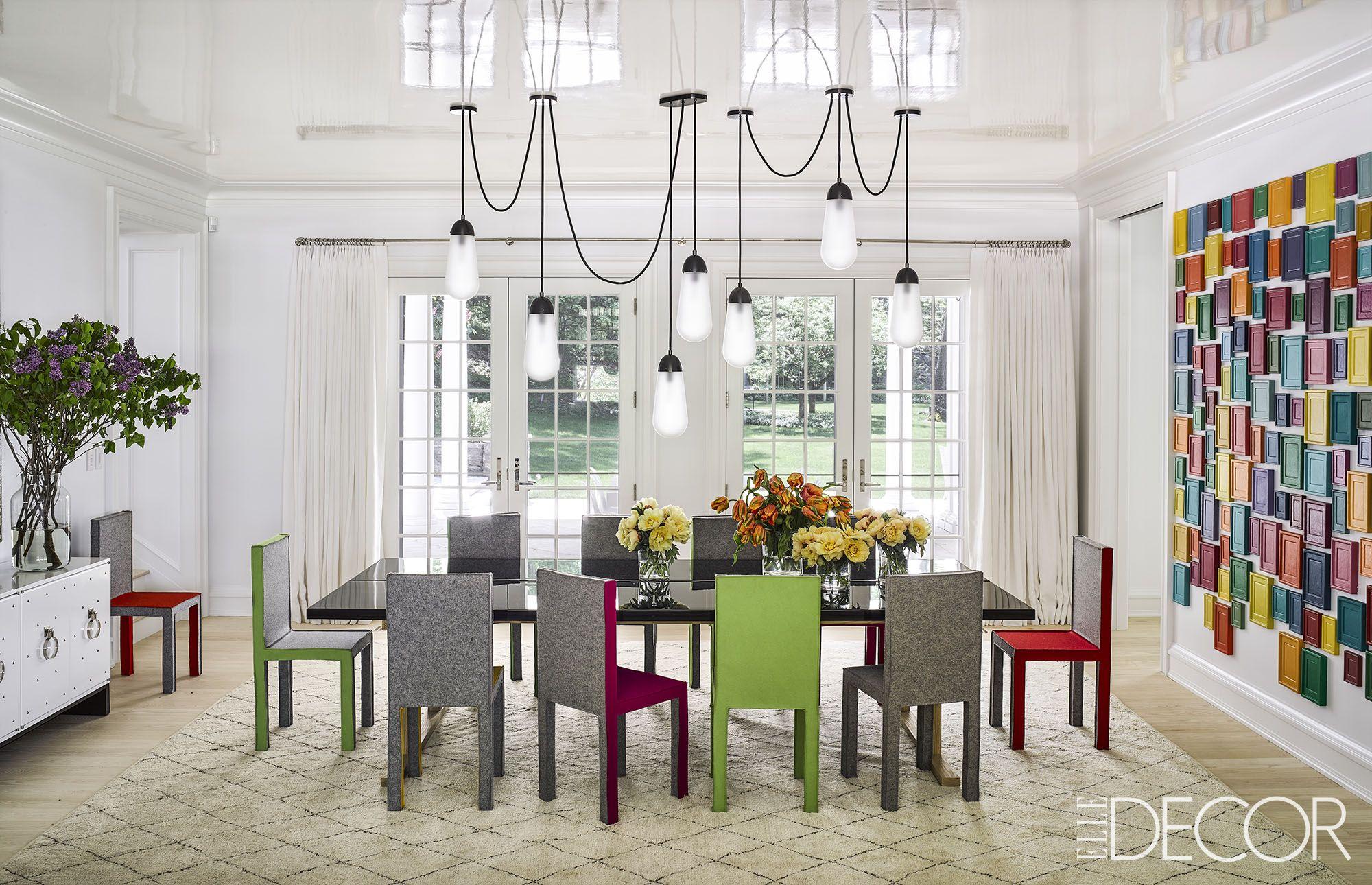 Dining Room Light Fixtures. Douglas Friedman. Uneven Lighting