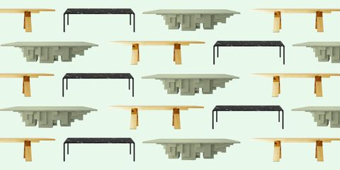 best dining tables salone   elle decor