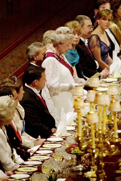 STATE DINNER IN HONOUR OF THE JORDANIAN ROYALS