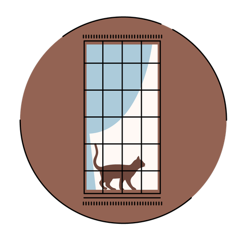 Window, Circle, Table, Illustration, Clip art, Fawn,