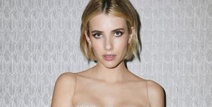 Emma Roberts Dior Haute Couture Fall 2018 Getting Ready