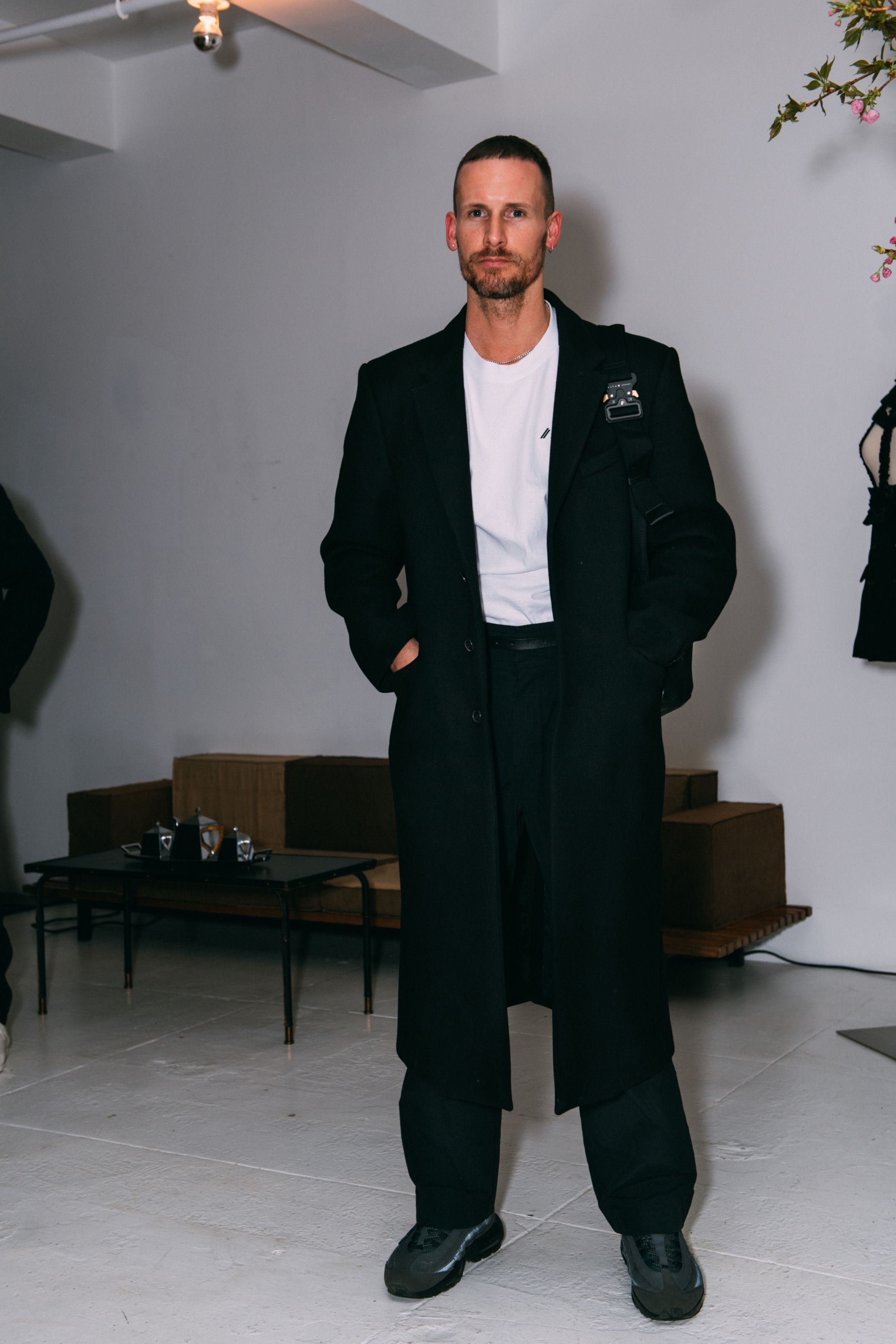 Dion Lee Dion Lee attends a private dinner hosted by Michael Bargo to celebrate William Vintage and it's new CEO Marie Blanchet on April 9 in New York City.