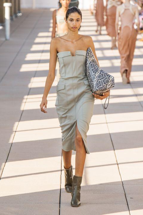 abiti bustier moda estate 2020