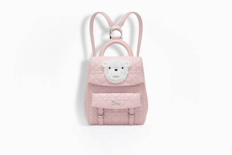 Pink, Beige, Fashion accessory, Rabbit, Bag, Rabbits and Hares,