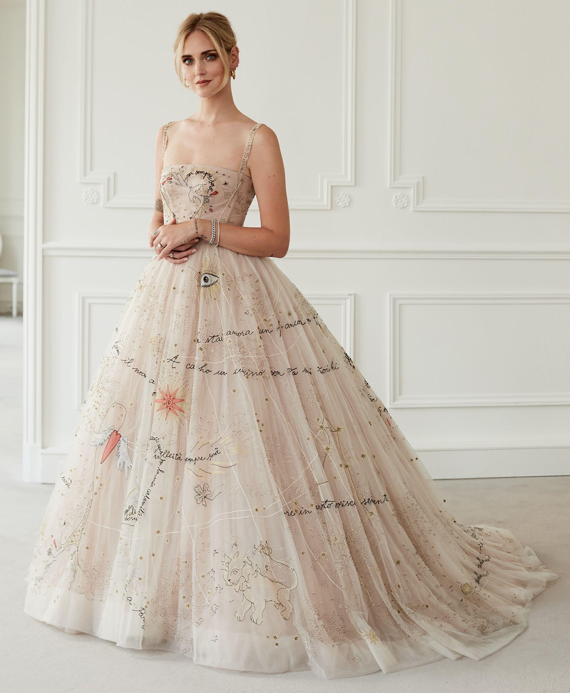 135307618e Chiara Ferragni matrimonio: i segreti del secondo abito Dior
