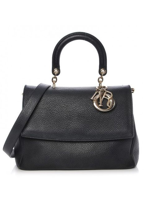 Handbag, Bag, Black, Leather, Fashion accessory, Product, Shoulder bag, Material property, Kelly bag, Luggage and bags,