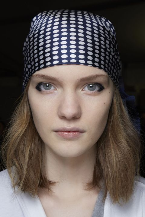 Hair, Beanie, Face, Clothing, Knit cap, Eyebrow, Lip, Fashion, Cap, Head,