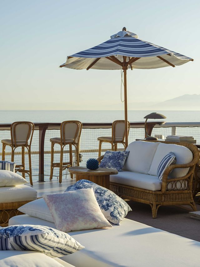 Il pop up store Dior a Capri