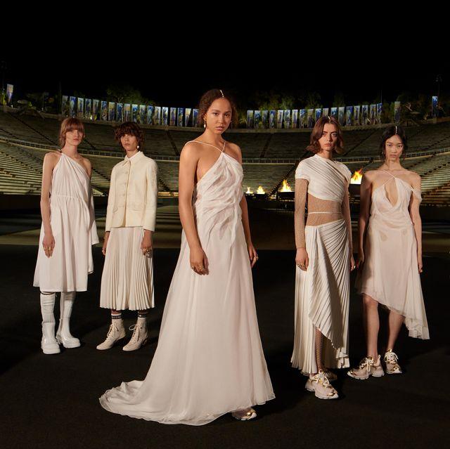 dior 2022早春系列6大亮點!解鎖天鵝白紗與希臘神話的秘密