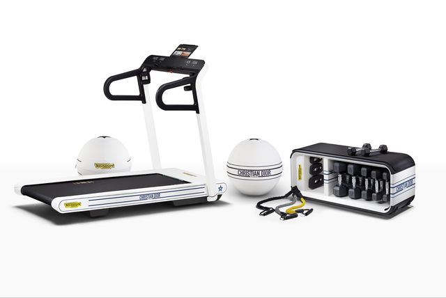 dior and technogym limited edition