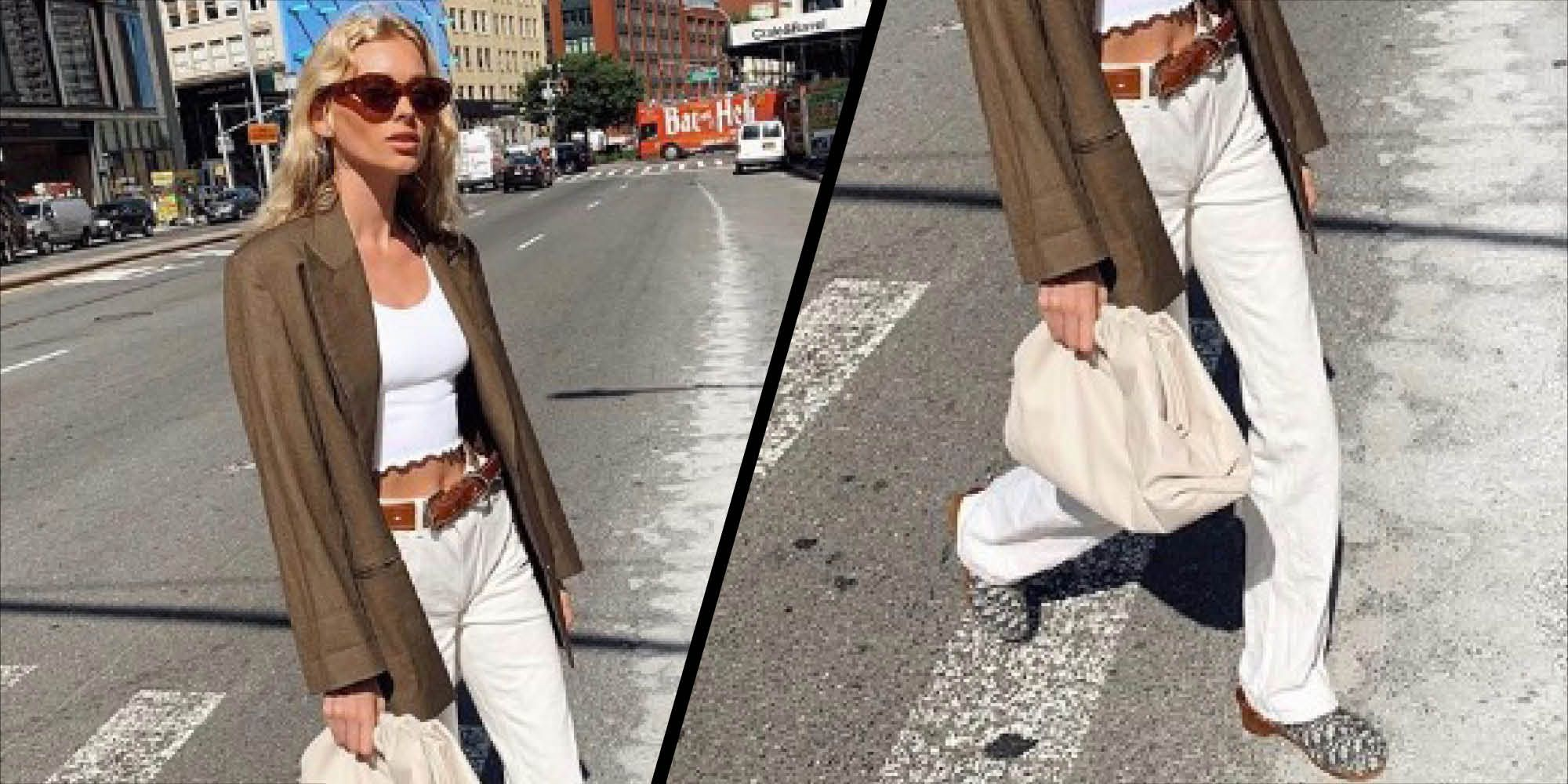 Elsa Hosk and Dior are bringing back the clog