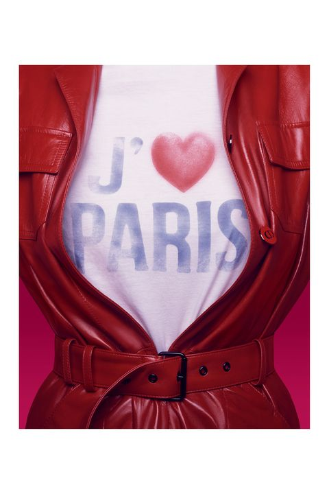 Red, Collar, Textile, Carmine, Maroon, Leather, Heart, Love, Leather jacket, Button,