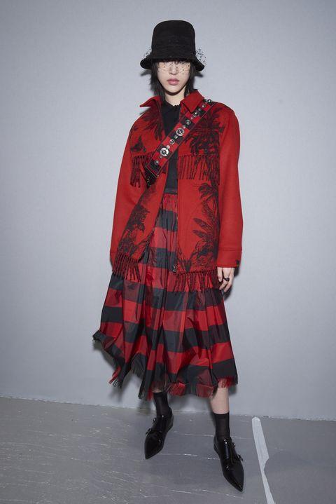 Clothing, Plaid, Tartan, Fashion, Pattern, Fashion model, Outerwear, Design, Textile, Kilt,