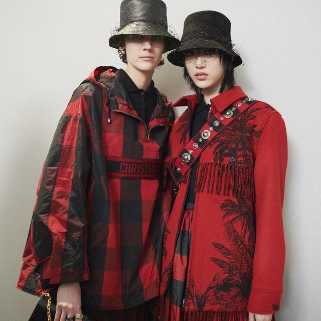 Clothing, Outerwear, Plaid, Red, Tartan, Fashion, Jacket, Pattern, Sleeve, Coat,