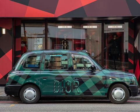 Dior Pop up at Harrods London