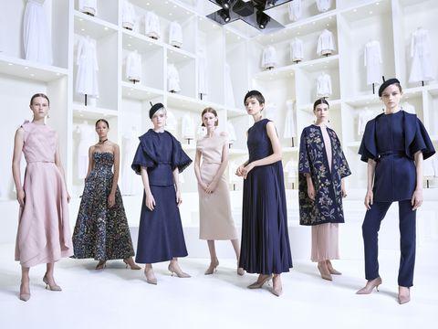 Clothing, Fashion, Dress, Fashion design, Formal wear, Event, Haute couture, Design, Fashion model, Outerwear,