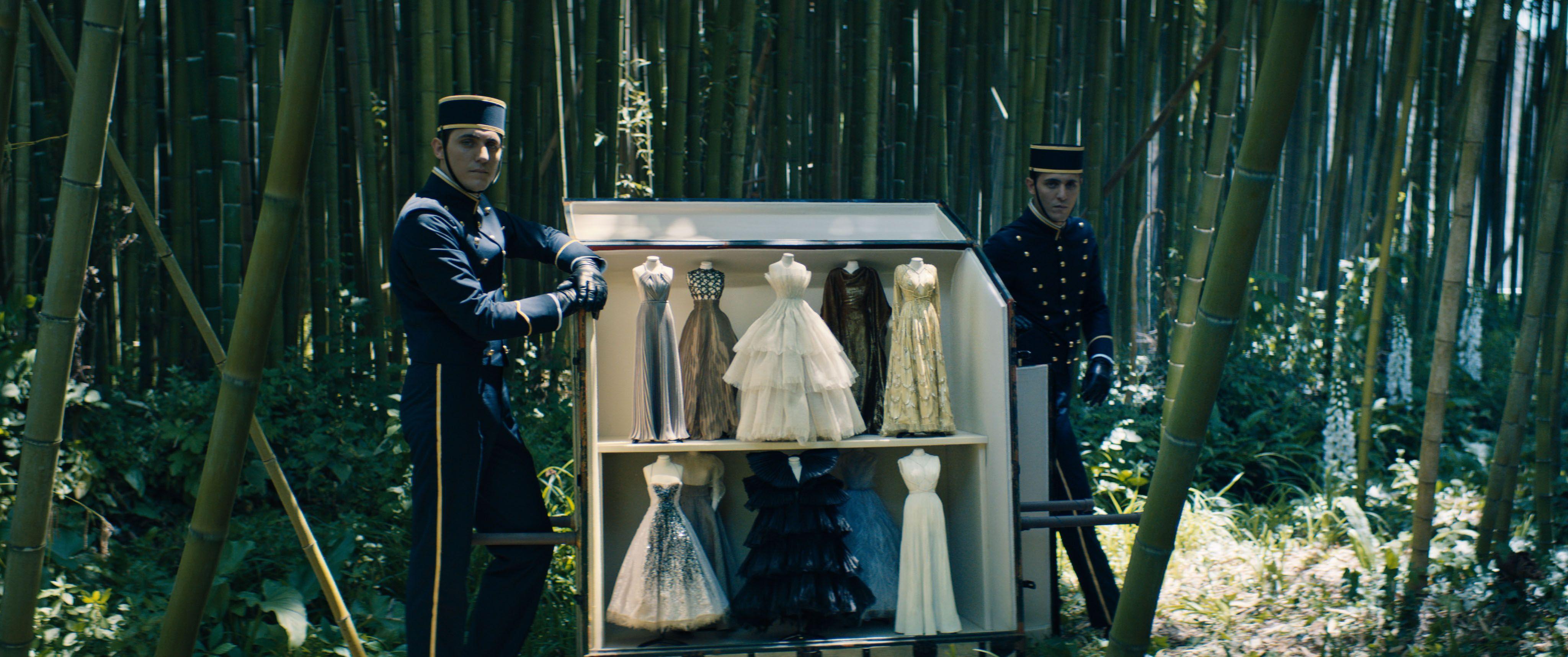 Dior's haute couture autumn winter line in miniature