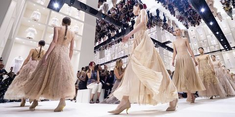 Dior Autumn Winter 2019 Couture Collection Couture Fashion Week