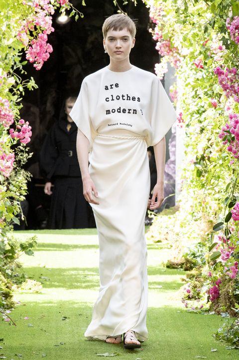 De looks van Dior Couture Herfst 2019