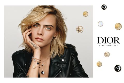 Dior jewellery, Cara Delevingne