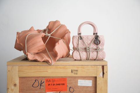 11a5ab1e5e06 Dior Taps Women Artists to Create Exclusive Lady Bags