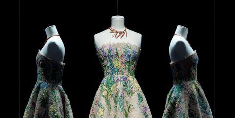 Dress, Clothing, Fashion, Gown, Costume design, Victorian fashion, Formal wear, Cocktail dress, Fashion design, Outerwear,