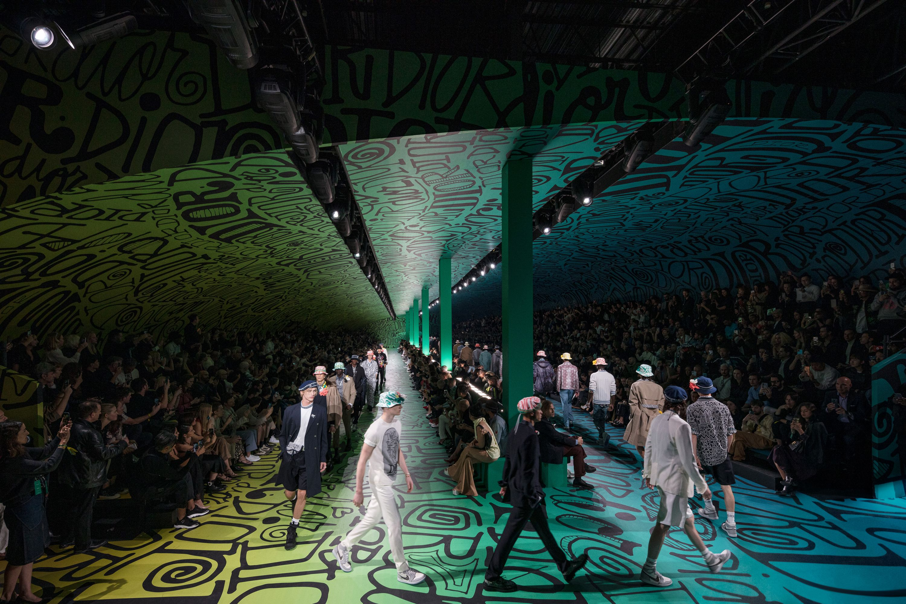 Dior Upstages Art Basel Miami Beach with Star-Studded Fashion Show