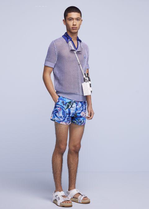 dior 2021秋季男裝海灘膠囊系列單品推薦!dior不鏽鋼水壺、馬鞍腰包、繫帶涼鞋今夏必收