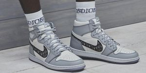 Dior Nike Jordan sneakers