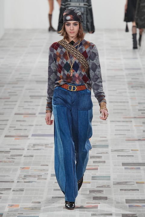 dior jeans trend