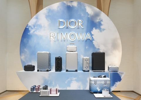 DIOR x RIMOWA聯名行李箱巴黎上市派對