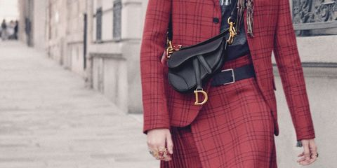 Dior has brought back its iconic Saddle bag 647fc3fd4d484