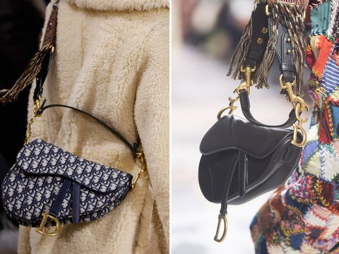 Dior has brought back its iconic Saddle bag e9a1865ef98b6