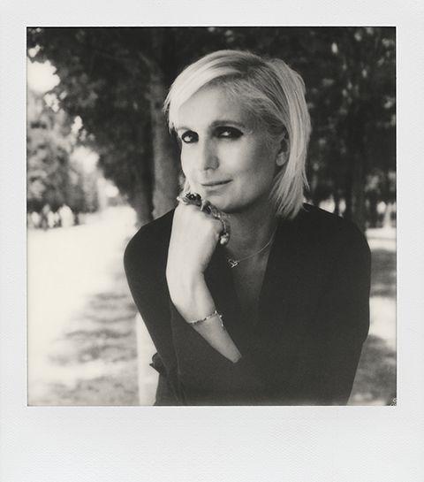 Maria Grazia Chiuri, de hoofdontwerper van Dior