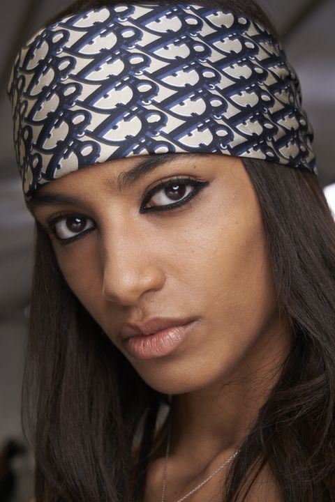 Clothing, Beanie, Eyebrow, Beauty, Knit cap, Lip, Headgear, Fashion, Cap, Turban,