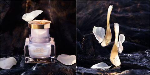 迪奧精萃再生花蜜乳霜送全新限量金萃玫瑰花瓣按摩壓勺