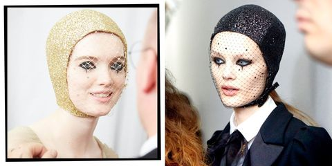 73281c03b1 Dior's Couture Circus Was All About The Punk-Meets-Pierrot Make-Up