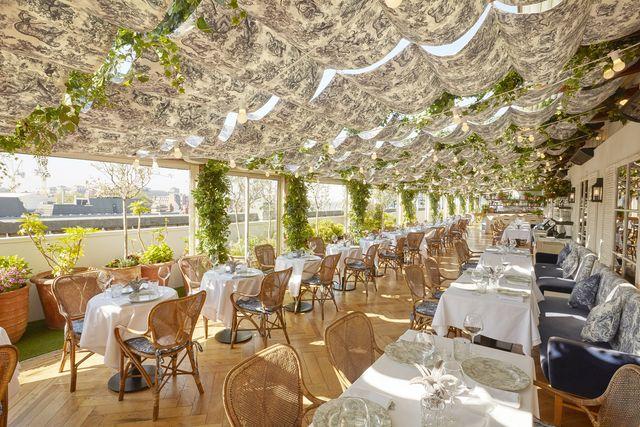 dior riviera pop up rooftop restaurant