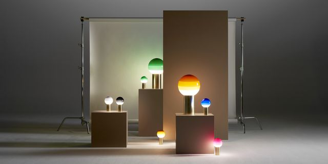Give your home a 1970s glow with lighting inspired by the decade