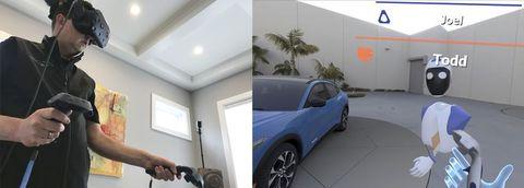 VR-среда процесса разработки Ford