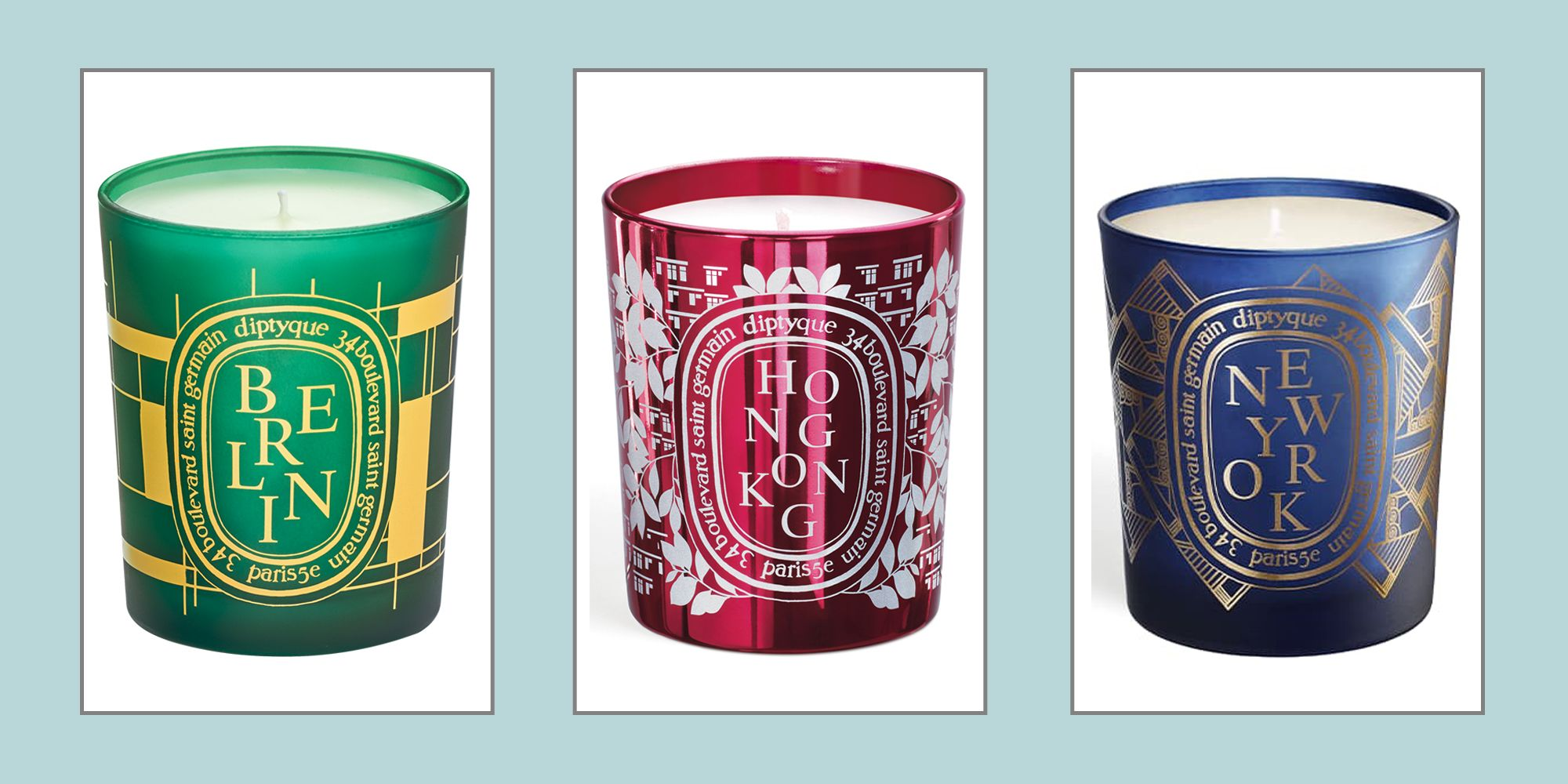 Diptyque's Popular City Candles Are Back for Five Days Only