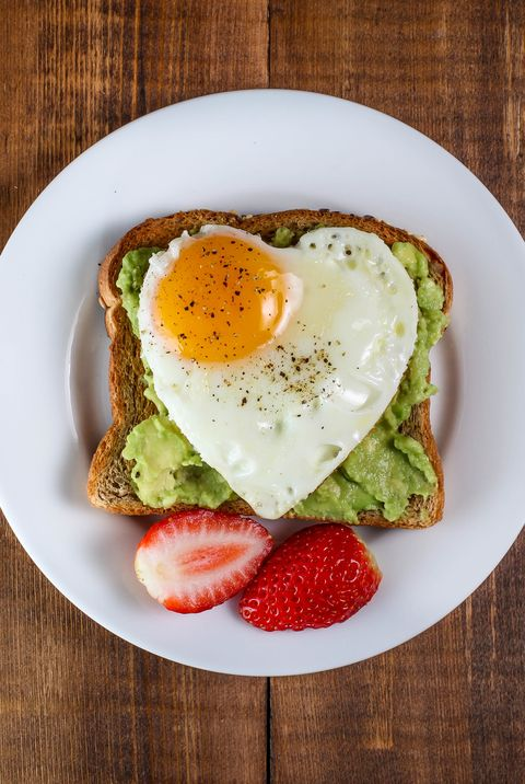 heart shaped egg - heart shaped food