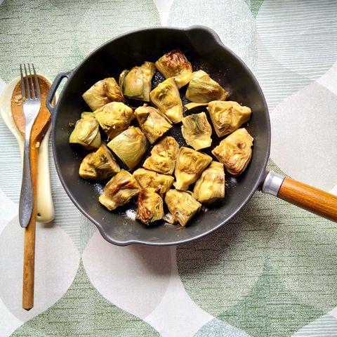 alimentos de otoño alcachofa