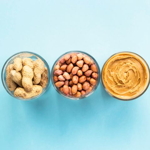 high protein low carb foods-peanuts and peanut butter