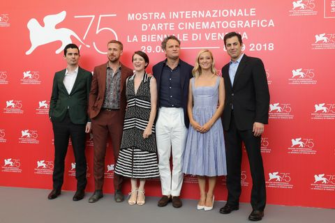 First Man Photocall - 75th Venice Film Festival