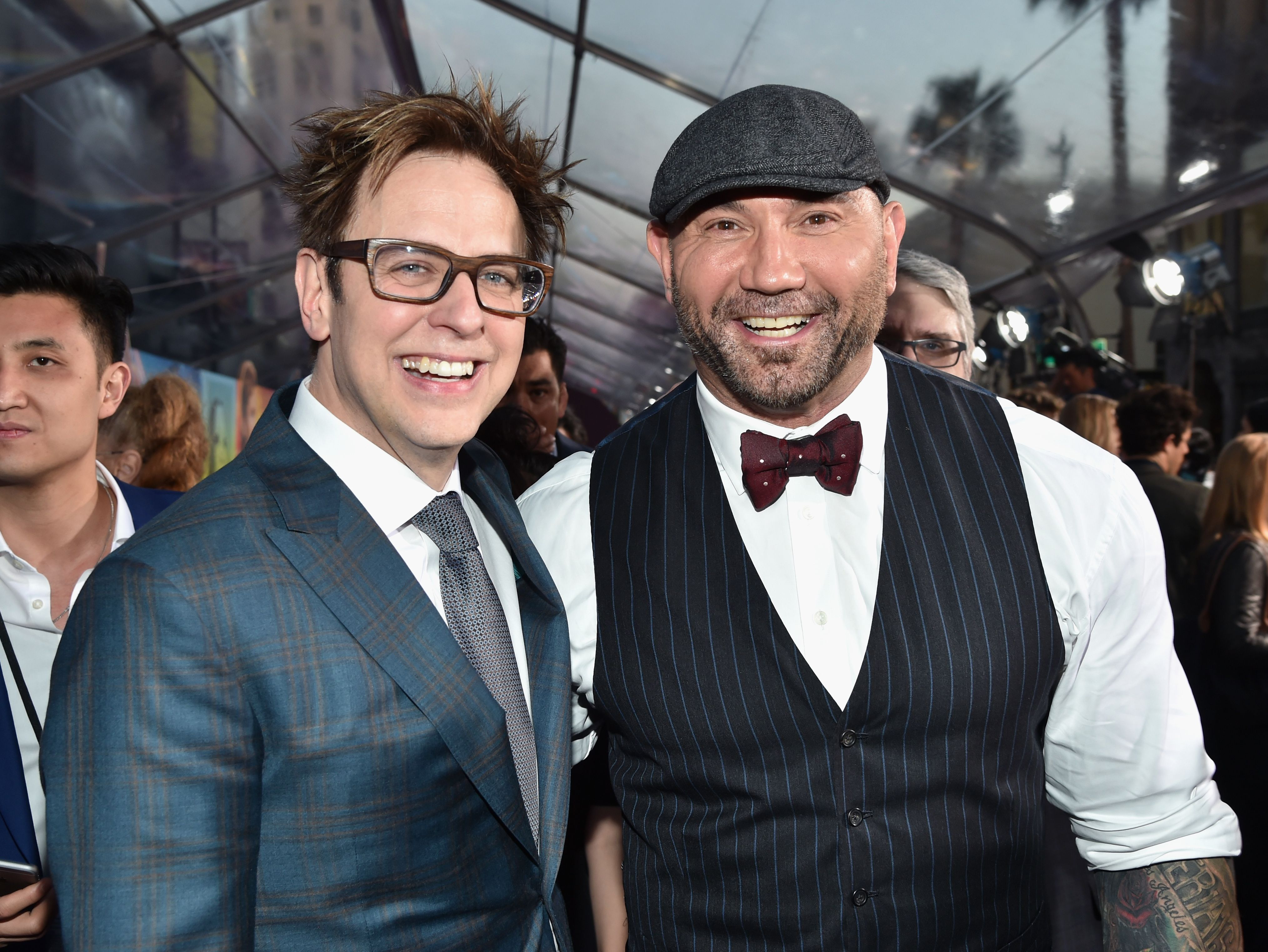Guardians of the Galaxy Star Dave Bautista Put His Career On the Line to Defend James Gunn