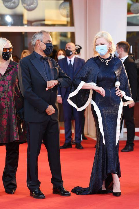 ベネチア国際映画祭 ケイト・ブランシェット アルベルト・バルベラ 映画 パンデミック 新型コロナウイルス感染症